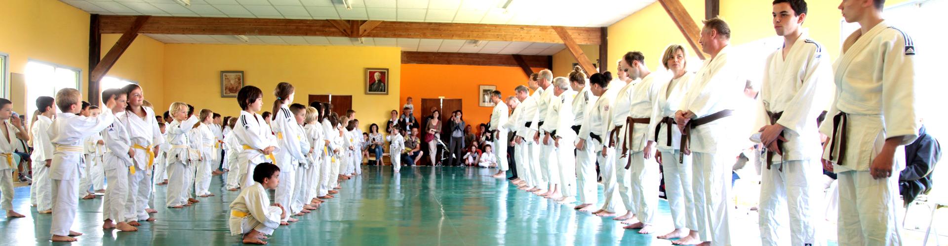 Cours de judo pour tous
